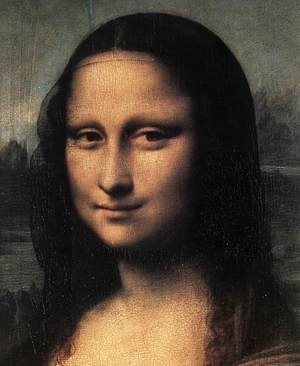 Renaissance - High painting reproductions: Mona Lisa  Detail