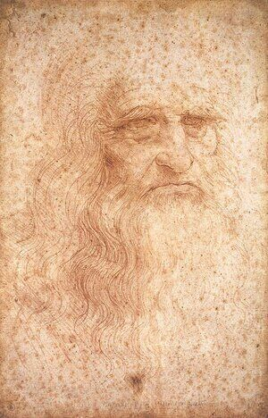 Reproduction oil paintings - Leonardo Da Vinci - Self Portrait