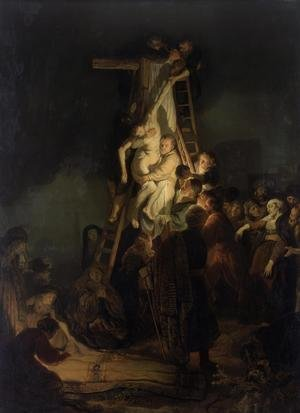 Reproduction oil paintings - Rembrandt - Descent from the Cross 1634