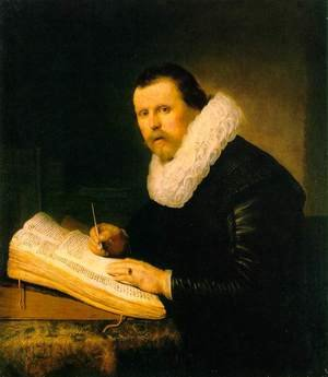 Reproduction oil paintings - Rembrandt - A Scholar 1631