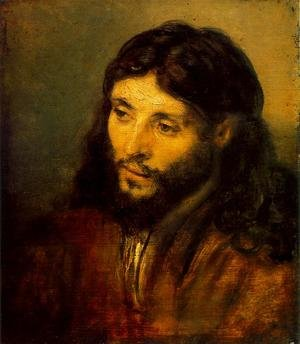 Reproduction oil paintings - Rembrandt - Young Jew as Christ c. 1656