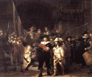 Reproduction oil paintings - Rembrandt - The Nightwatch 1642