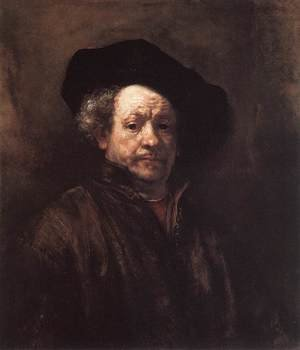 Famous paintings of Men: Self-Portrait 1660