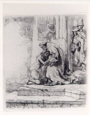 Reproduction oil paintings - Rembrandt - The Return Of The Prodigal Son   1663