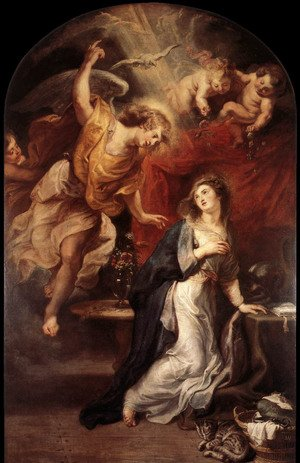 Reproduction oil paintings - Rubens - Annunciation