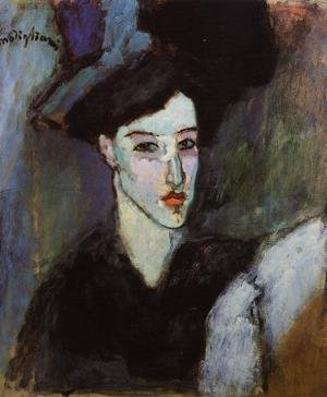 Reproduction oil paintings - Amedeo Modigliani - The Jewess