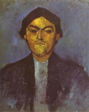 Expressionism painting reproductions: Portrait Of Pedro