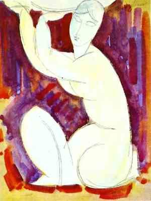 Expressionism painting reproductions: Caryatid I