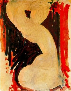 Expressionism painting reproductions: Caryatid Iii
