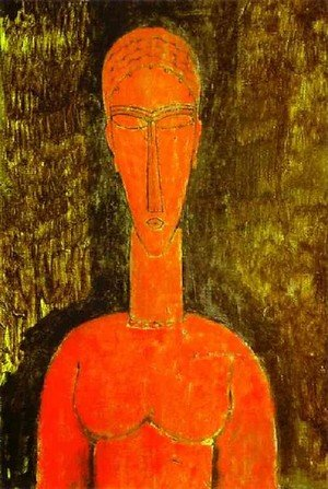 Expressionism painting reproductions: The Red Bust