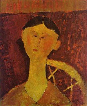 Expressionism painting reproductions: Portrait Of Beatrice Hastings