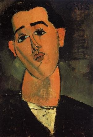 Expressionism painting reproductions: Portrait Of Juan Gris