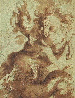 Reproduction oil paintings - Rubens - St  George Slaying The Dragon