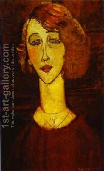Lalotte by Amedeo Modigliani - Reproduction Oil Painting