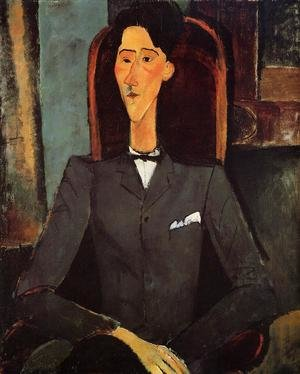 Expressionism painting reproductions: Portrait Of Jean Cocteau