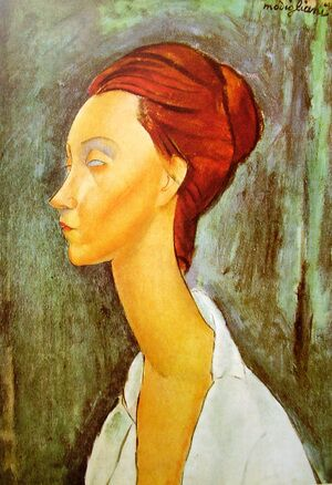 Reproduction oil paintings - Amedeo Modigliani - Portrait Of Lunia Czechovska