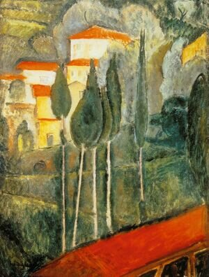 Amedeo Modigliani reproductions - Landscape