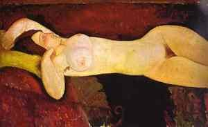 Expressionism painting reproductions: Reclining Nude   Le Grande Nu