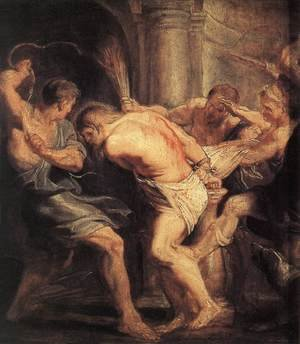 Reproduction oil paintings - Rubens - The Flagellation Of Christ