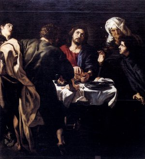 Reproduction oil paintings - Rubens - The Supper At Emmaus