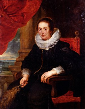 Reproduction oil paintings - Rubens - Portrait Of A Woman  Probably His Wife