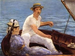 Reproduction oil paintings - Edouard Manet - Boating  1874