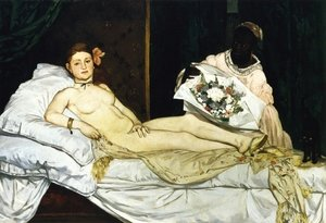 Reproduction oil paintings - Edouard Manet - Olympia  1863