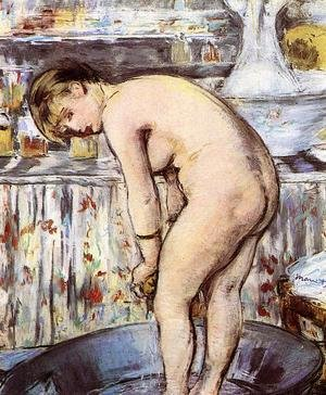Woman in a Tub  1878-79