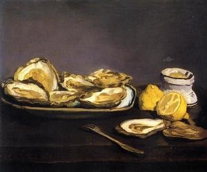 Edouard Manet reproductions - Oysters