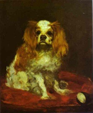 Famous paintings of Domestic Animals: A King Charles Spaniel