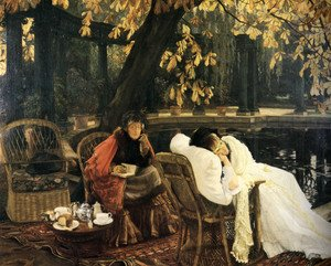 Neo-Classical painting reproductions: A Convalescent 1876