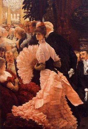 James Jacques Joseph Tissot reproductions - A Woman Of Ambition