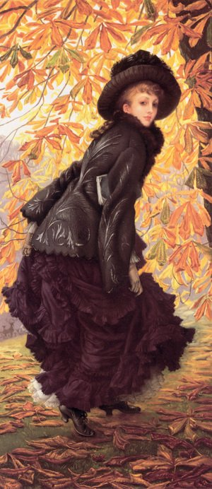 Reproduction oil paintings - James Jacques Joseph Tissot - October 1877
