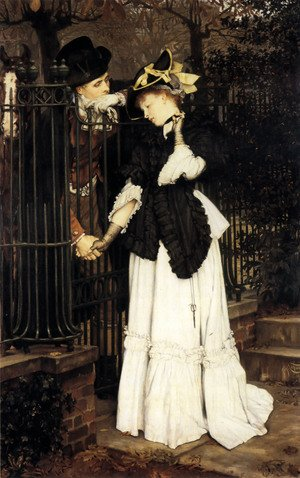 Reproduction oil paintings - James Jacques Joseph Tissot - The Farewell