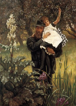 Reproduction oil paintings - James Jacques Joseph Tissot - The Widower