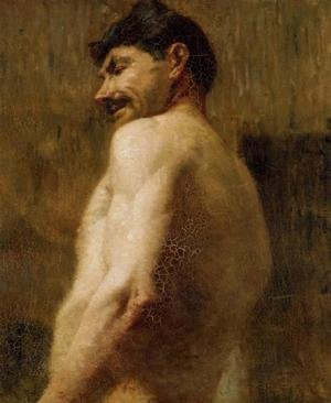 Reproduction oil paintings - Toulouse-Lautrec - Bust Of A Nude Man