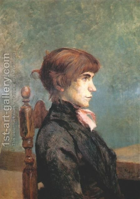 Jeanne Wenz by Toulouse-Lautrec - Reproduction Oil Painting