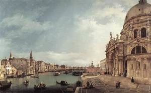 Entrance to the Grand Canal- Looking East 1744