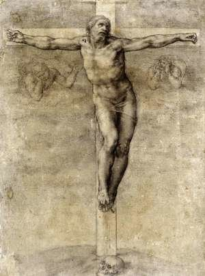 Reproduction oil paintings - Michelangelo - Christ On The Cross 1541