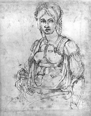 Portrait of Vittoria Colonna 1540s