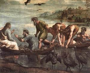 Reproduction oil paintings - Raphael - The Miraculous Draught Of Fishes