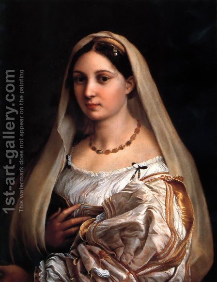 Raphael: La Donna Velata 1516 - reproduction oil painting