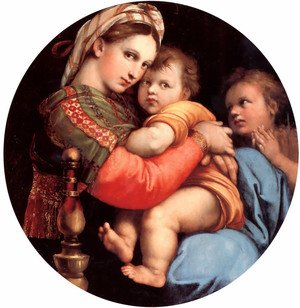 Reproduction oil paintings - Raphael - The Madonna Of The Chair