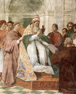 Reproduction oil paintings - Raphael - Gregory IX Approving The Decretals