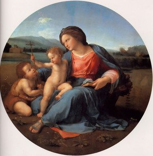 Reproduction oil paintings - Raphael - The Alba Madonna 1509