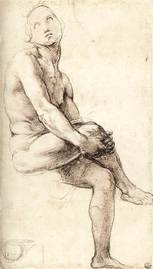 Reproduction oil paintings - Raphael - Study For Adam