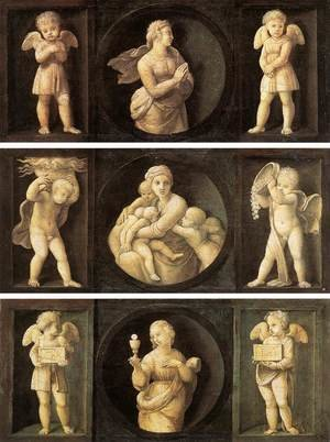 Reproduction oil paintings - Raphael - Theological Virtues