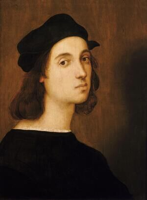 Reproduction oil paintings - Raphael - Self Portrait