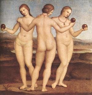 Reproduction oil paintings - Raphael - The Three Graces