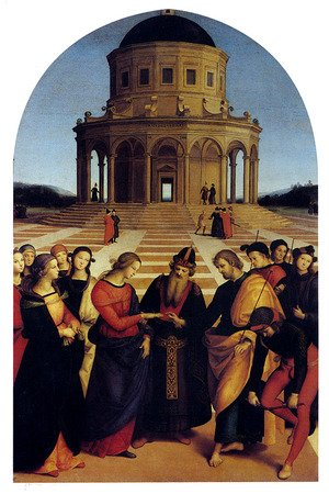 Reproduction oil paintings - Raphael - Marriage Of The Virgin